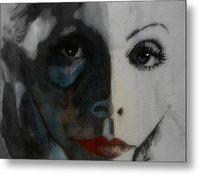 Greta Garbo Metal Print by Paul Lovering