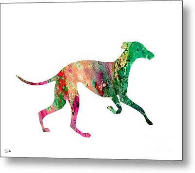 Greyhound 2 Metal Print by Luke and Slavi