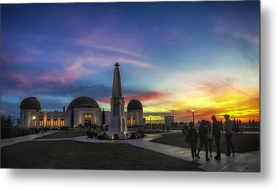 Metal Print featuring the photograph Griffith Observatory by Sean Foster
