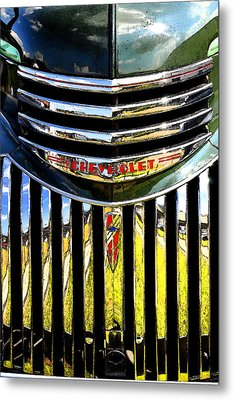 Grilled Metal Print by Craig T Burgwardt