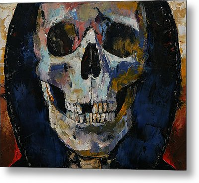 Grim Reaper Metal Print by Michael Creese