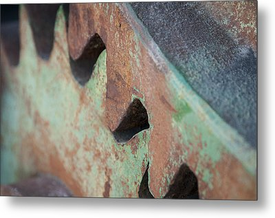 Metal Print featuring the photograph Grind by Kevin Bergen
