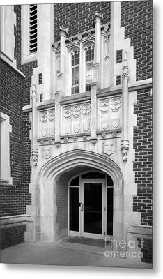 Grinnel College Collegiate Entryway Metal Print by University Icons
