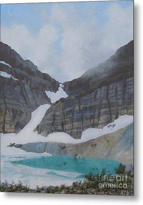 Grinnell Glacier Metal Print