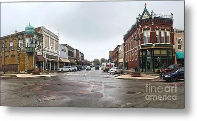 Grinnell Iowa - Downtown - 05 Metal Print by Gregory Dyer
