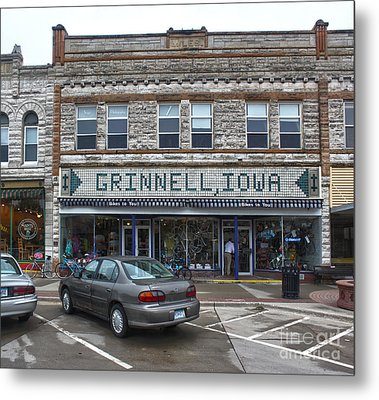 Grinnell Iowa - Downtown - 06 Metal Print by Gregory Dyer