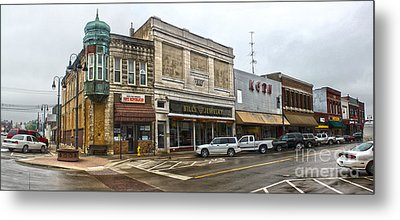 Grinnell Iowa - Downtown - 01 Metal Print by Gregory Dyer