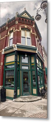 Grinnell Iowa - Downtown - 02 Metal Print by Gregory Dyer