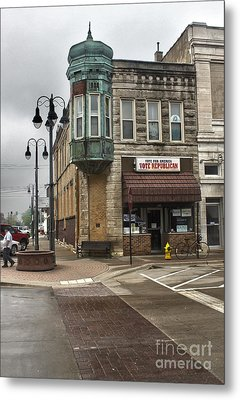 Grinnell Iowa - Downtown - 04 Metal Print by Gregory Dyer