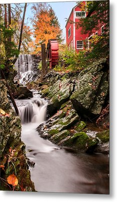 Grist Mill-bridgewater Connecticut Metal Print