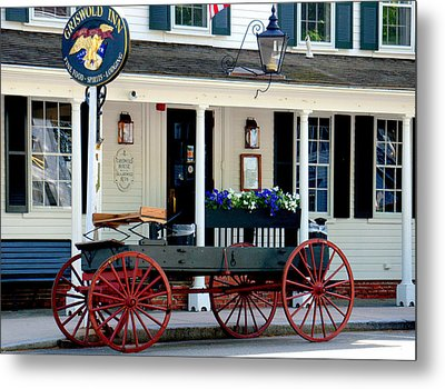 Griswold Inn And Tavern Metal Print