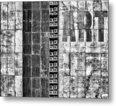 Gritty Palace Metal Print