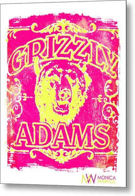 Grizzly Adams Metal Print