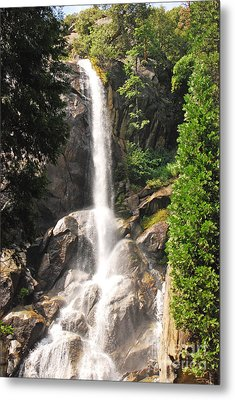 Metal Print featuring the photograph Grizzly Falls by Mary Carol Story