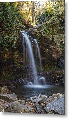 Grotto Falls I Metal Print