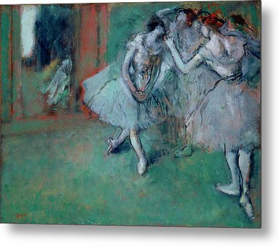 Group Of Dancers Metal Print