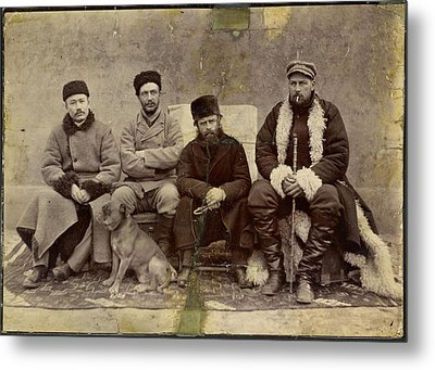 Group Photograph Metal Print by British Library