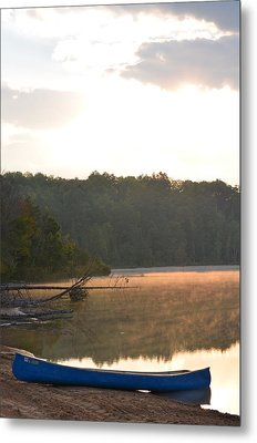 Grousehaven Lake - Rifle River State Park Metal Print by Jennifer  King