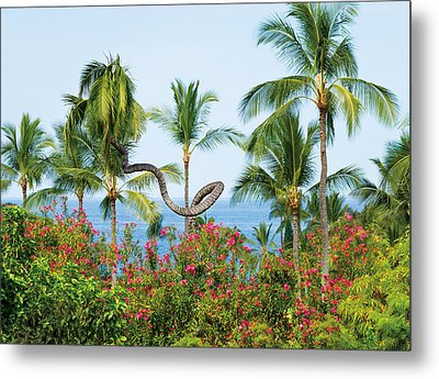 Grow Your Own Way Metal Print by Denise Bird