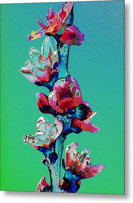 Growing Skyward Metal Print