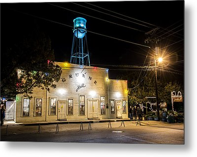 Gruene Hall Metal Print by Andy Crawford