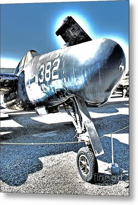 Grumman Tigercat F7f-3n  -  04 Metal Print by Gregory Dyer