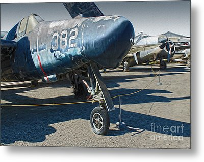 Grumman Tigercat F7f-3n  -  01 Metal Print by Gregory Dyer