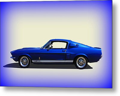 Metal Print featuring the photograph Gt350 Mustang by Keith Hawley