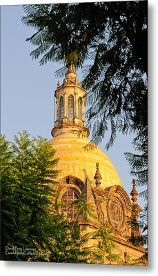 Metal Print featuring the photograph The Grand Cathedral Of Guadalajara, Mexico - By Travel Photographer David Perry Lawrence by David Perry Lawrence