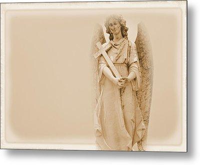 Guardian Angel Metal Print by Nadalyn Larsen