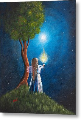 Guardian Of Light By Shawna Erback Metal Print by Shawna Erback