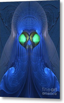 Guardian Of Souls - Surrealism Metal Print by Sipo Liimatainen