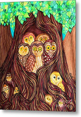 Guardians Of The Forest Metal Print by Nick Gustafson