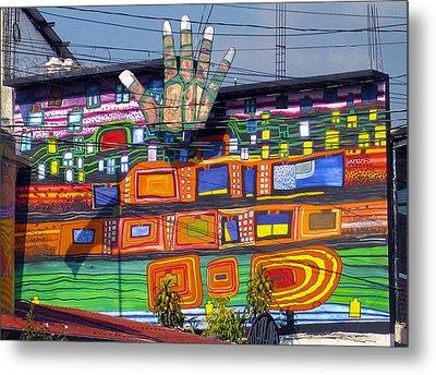 Guatemala Street Art 1 Metal Print by Kurt Van Wagner