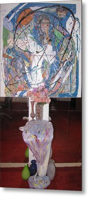 Guess Metal Print by HollyWood Creation By linda zanini