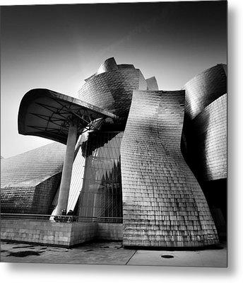 Guggenheim Bilbao Metal Print by Nina Papiorek
