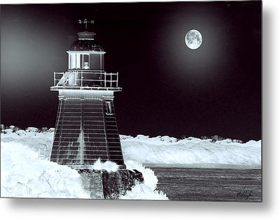 Guiding Lights Metal Print by Holly Kempe