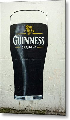 Guinness - The Perfect Pint Metal Print