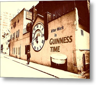 Guinness Time Metal Print