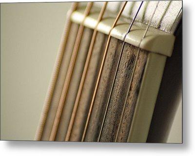Guitar Metal Print by Daniel Precht