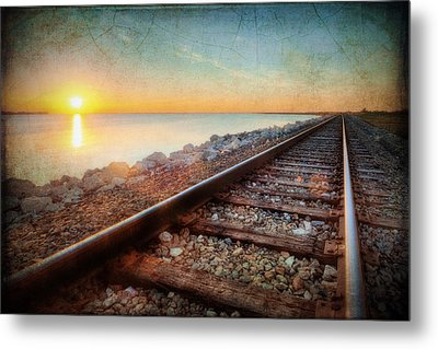 Gulf Coast Railroad Metal Print