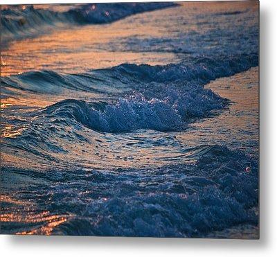 Gulf Coast Surf Wat 153 Metal Print by G L Sarti