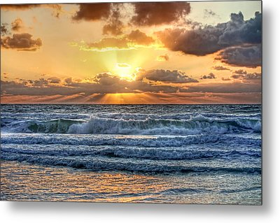 Gulf Waters Metal Print by HH Photography of Florida
