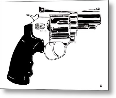 Gun Number 27 Metal Print by Giuseppe Cristiano