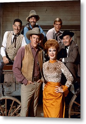 Gunsmoke  Metal Print by Silver Screen