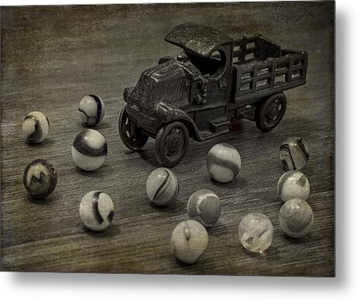 Gus's Truck Metal Print by Wayne Meyer