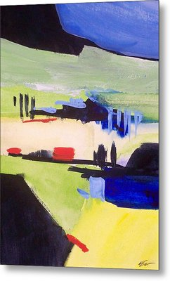 Metal Print featuring the painting Gweedore Beg by Ed  Heaton