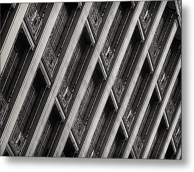 Gwynne Building Metal Print by Rob Amend