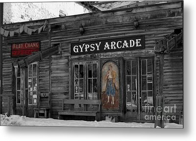 Gypsy Arcade Metal Print by Janice Westerberg