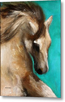 Metal Print featuring the painting Gypsy by Barbie Batson